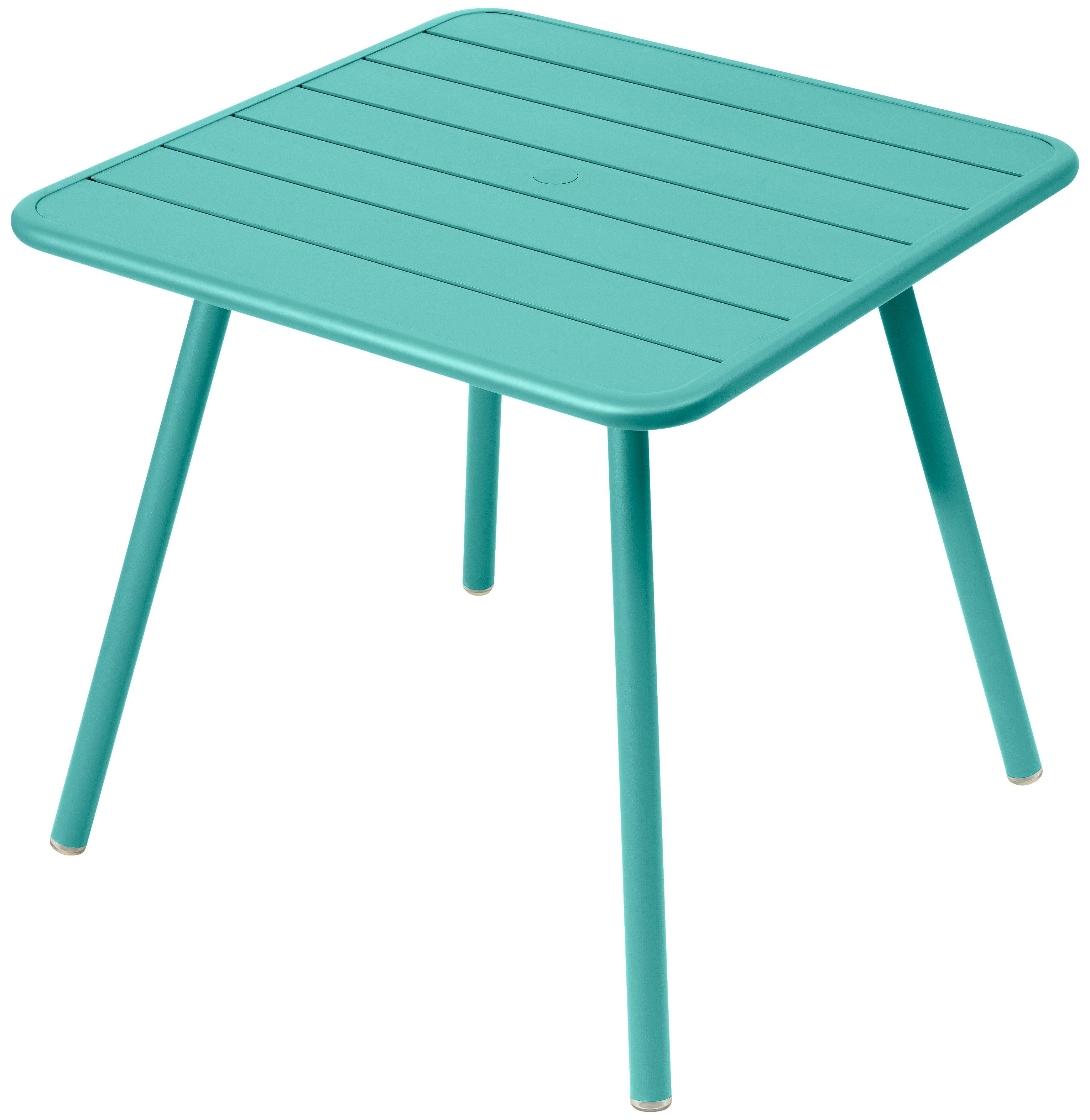 luxembourg 80 x 80 cm 4 tischbeine fermob tisch. Black Bedroom Furniture Sets. Home Design Ideas