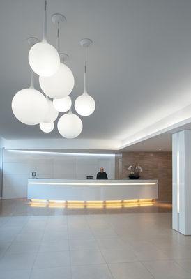 suspension castore blanc 35 cm artemide. Black Bedroom Furniture Sets. Home Design Ideas