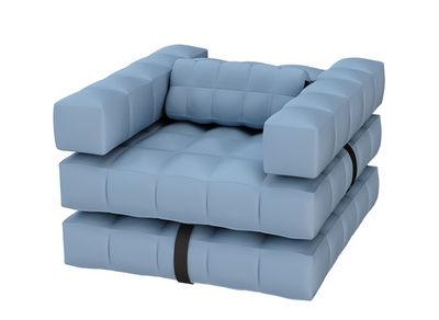 Modul Sofa modul air armchair sunbath l 117 x h 72 cm azure blue