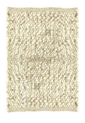 tapis carpet pebbles 170 x 230 cm 170 x 230 cm blanc. Black Bedroom Furniture Sets. Home Design Ideas