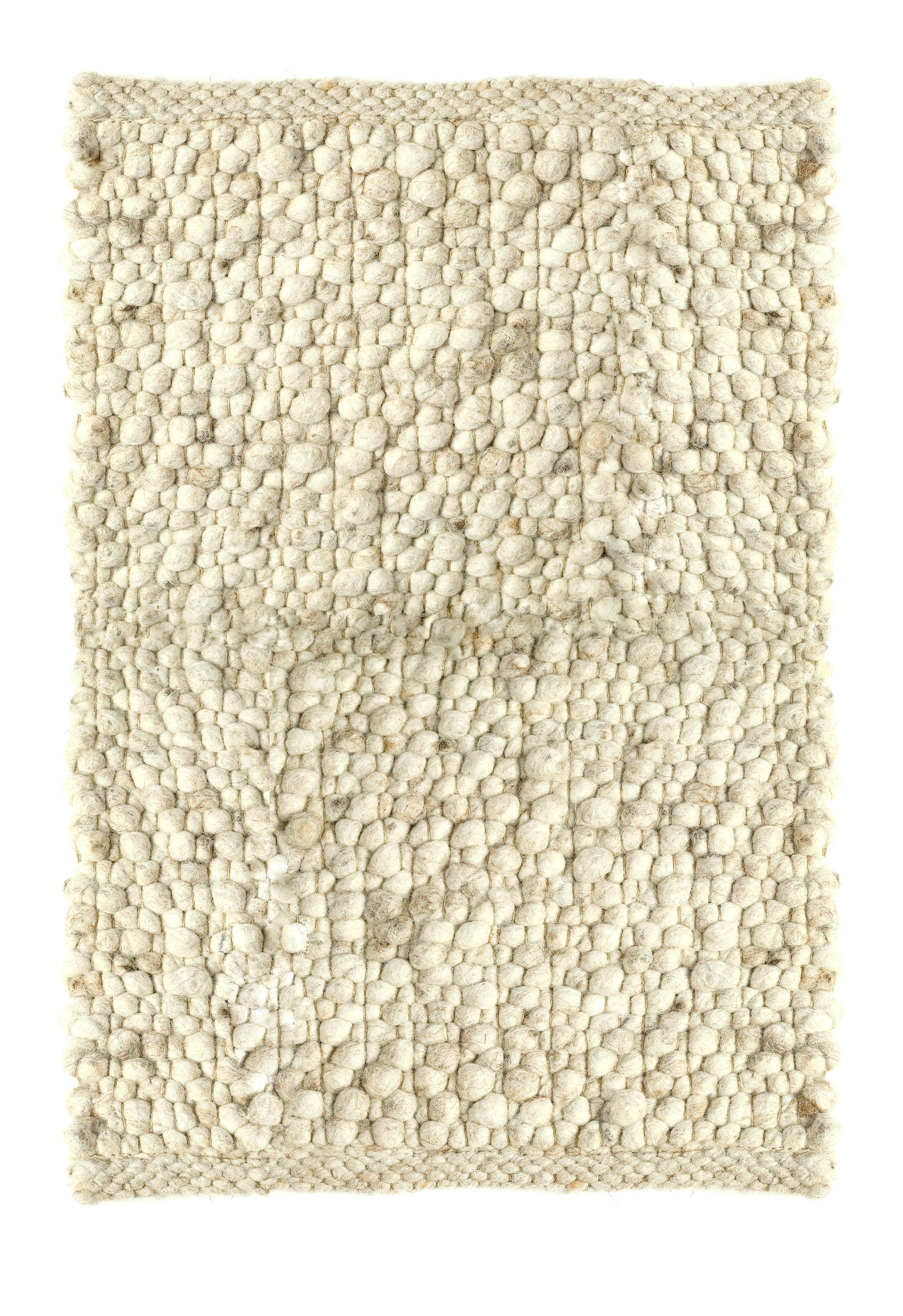 tapis carpet pebbles 170 x 230 cm 170 x 230 cm blanc cass pols potten. Black Bedroom Furniture Sets. Home Design Ideas