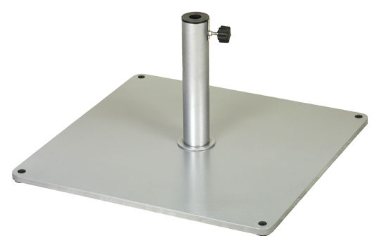 Parasol base 61 5 x 61 5 cm aluminium by vlaemynck - Vlaemynck parasol ...