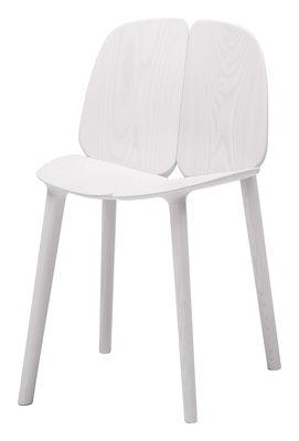 Chaise Osso / Frêne teinté - Mattiazzi blanc en bois