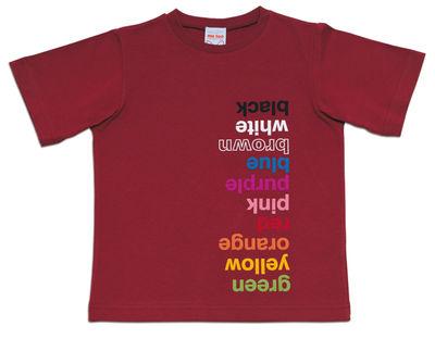 Déco - Pour les enfants - Tee-shirt Colours /Small 2 à 3 ans - Magis Collection Me Too - Prune - Small (2 à 3 ans) - Coton