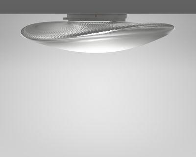 Plafoniere Vetro Soffiato : Loop led applique plafoniera vetro Ø 45 cm trasparente by