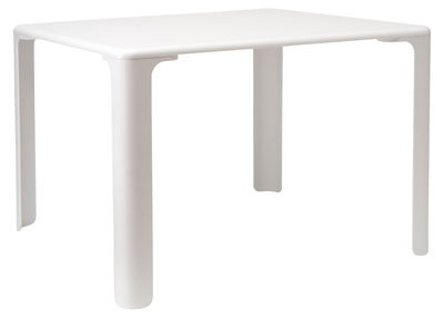 Furniture - Kids Furniture - Linus Children table - 75 cm x 75 cm by Magis Collection Me Too - White - MDF with polymer finish, Polypropylene