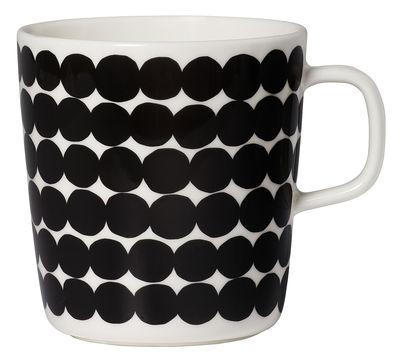 Mug Siirtolapuutarha / 40 cl - Marimekko blanc,noir en céramique