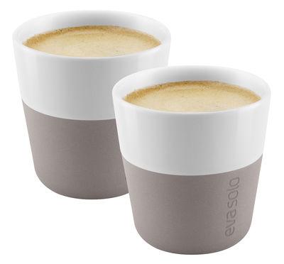 Tasse à espresso Set de 2 80 ml Eva Solo blanc,gris chaud en céramique