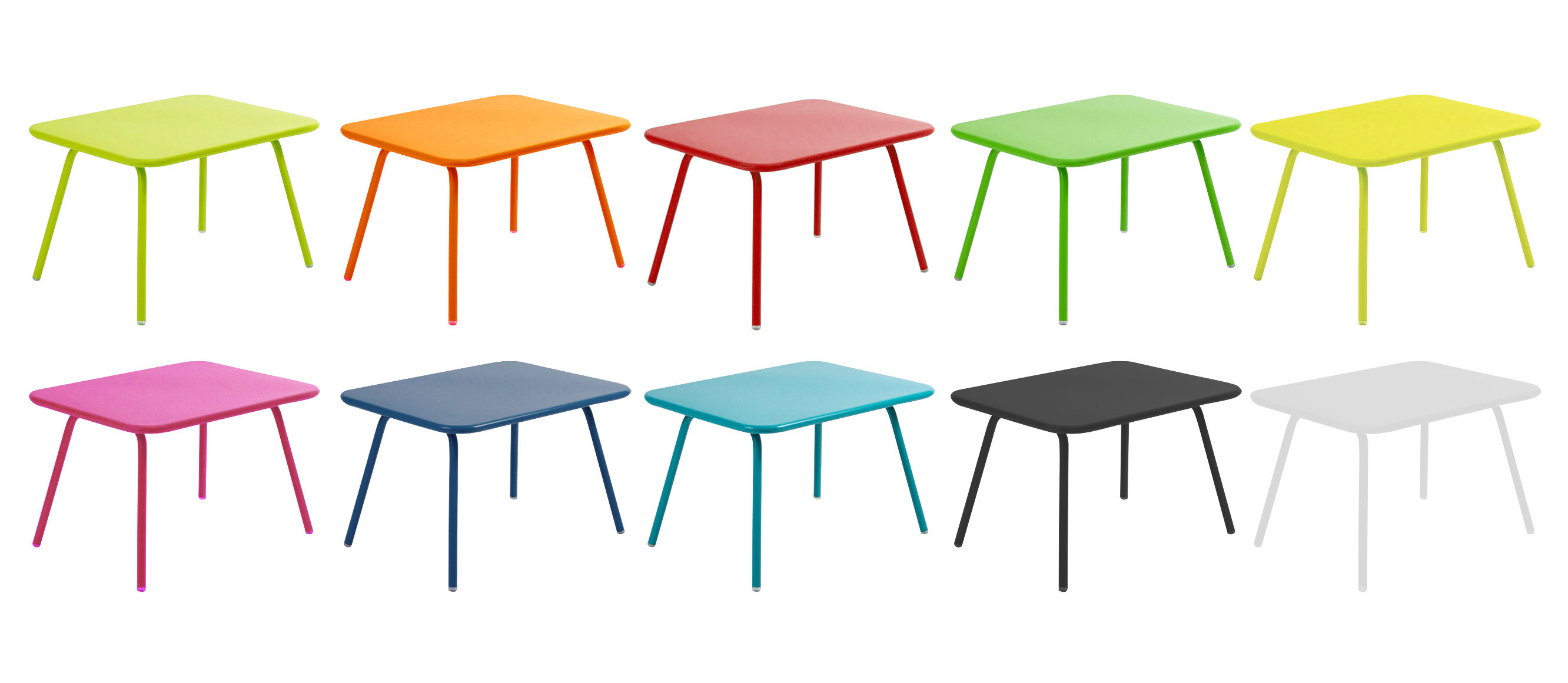 luxembourg kid children table turquoise by fermob. Black Bedroom Furniture Sets. Home Design Ideas