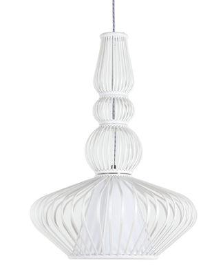 suspension volupt bambou 41 x h 56 cm blanc forestier made in design. Black Bedroom Furniture Sets. Home Design Ideas