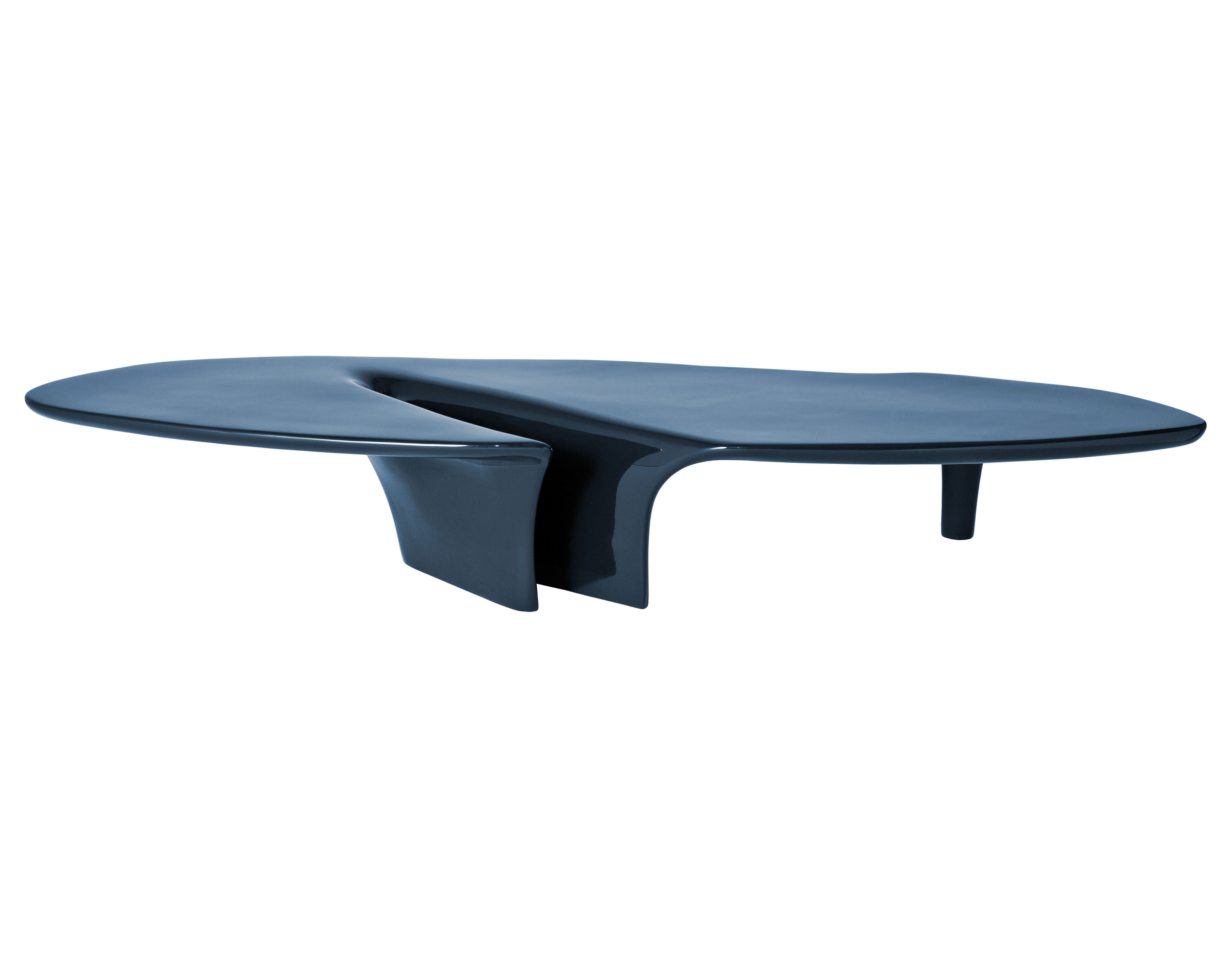 Waterfall coffee table 216 x 60 cm blue by driade for Coffee table 60 x 60