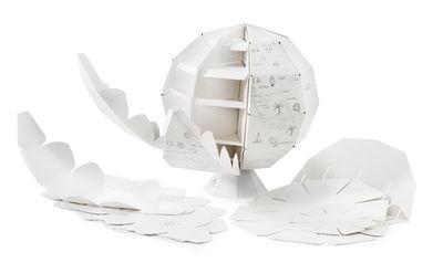 kit de construction my first globe globe terrestre en papier colorier blanc donkey. Black Bedroom Furniture Sets. Home Design Ideas