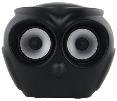Weihnnachtsgeschenke - Für ihn / Der moderne Man - Enceinte Bluetooth aOWL - Kreafunk - Noir - Matière plastique