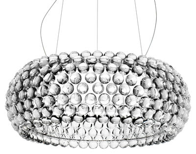 Lighting - Pendant Lighting - Caboche Grande Pendant by Foscarini - Transparent - PMMA