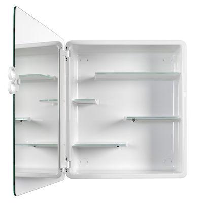 armoire de toilette kali blanc authentics. Black Bedroom Furniture Sets. Home Design Ideas