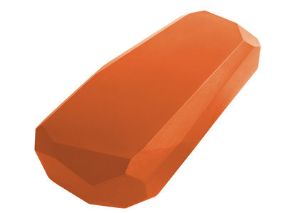 Table basse Meteor Large / 117 x 69 cm - Serralunga orange en matière plastique