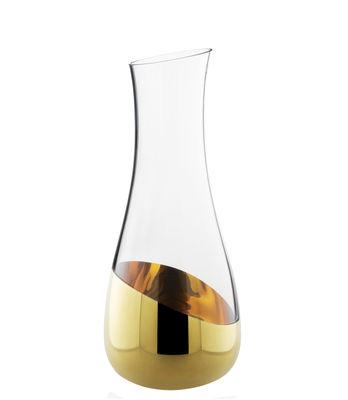 Tavola - Caraffe e Decantatori - Caraffa Midas - H 24,5 cm di Skitsch - H 24,5 cm - oro - Oro, Vetro soffiato a bocca