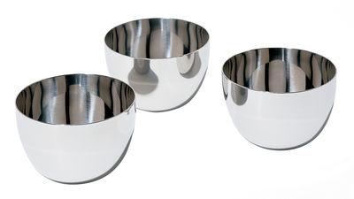 Foto Ciotola Mami - Set di 3 di Alessi - Acciaio - Metallo