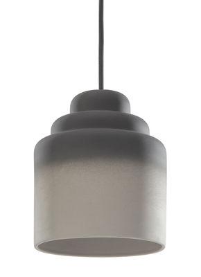 Luminaire - Suspensions - Suspension Jedee / Ø 16 cm - Porcelaine - Spécimen Editions - Gris - Porcelaine