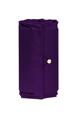 Coussin / Pour chaise longue Bistro - L 171 cm - Fermob prune en tissu
