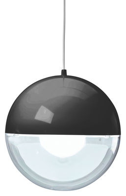 Lighting - Pendant Lighting - Orion Pendant by Koziol - Black / Transparent - Polystyrene