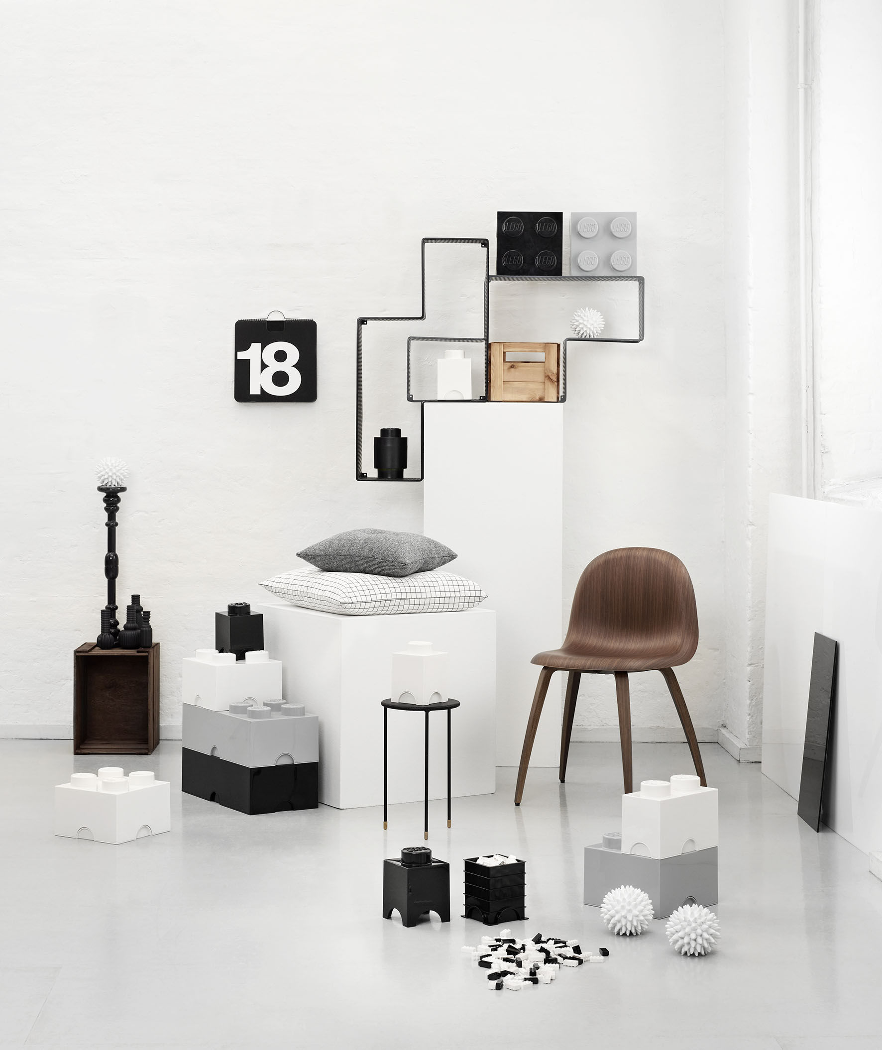 lego brick box grey by room copenhagen. Black Bedroom Furniture Sets. Home Design Ideas