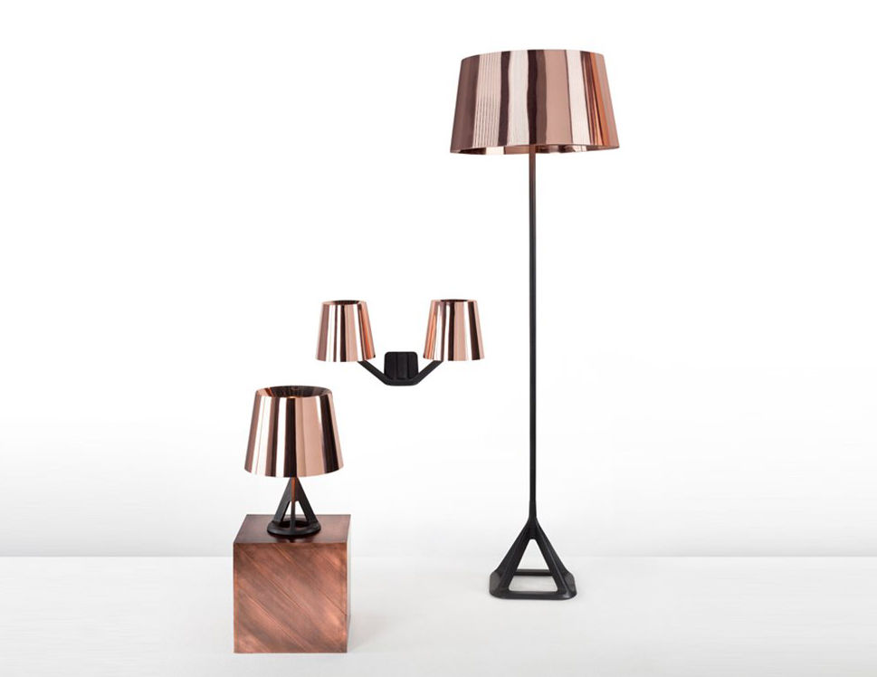 Base Floor Lamp Copper By Tom Dixon