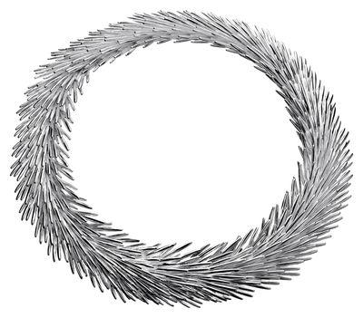 Collier Palmaceae by Michele Oka Doner Large Christofle argent en métal