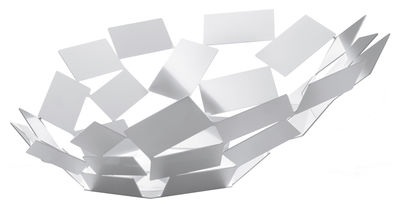 Image of Centrotavola La Stanza dello Scirocco - Ø 41 cm x h 15 cm di Alessi - Bianco - Metallo