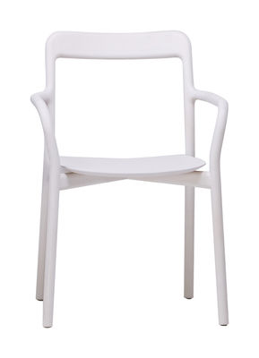 Branca Stapelbarer Sessel - Mattiazzi - Weiß