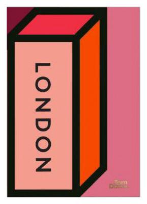 Déco - Objets déco et cadres-photos - Affiche Ephemera Brick / L 59 x H 84 cm - Tom Dixon - Brick / Tons roses - Papier