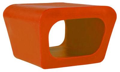 Foto Pouf Jellyfish di Quinze & Milan - Arancione - Materiale plastico