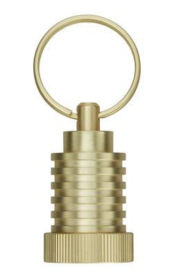Accessoires - Bijoux, porte-clés... - Porte-clés Cog Pod / Laiton - Tom Dixon - Pod / Laiton - Laiton massif