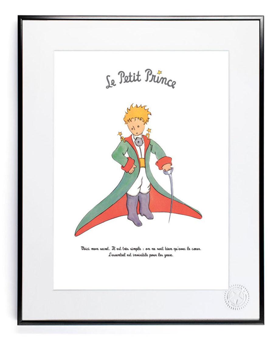 le petit prince mon secret poster 40 x 50 cm my secret by image republic made in design uk. Black Bedroom Furniture Sets. Home Design Ideas