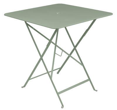 Table pliante Bistro 71 x 71 cm Trou pour parasol Fermob cactus en métal
