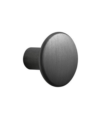 Image of Gancio The Dots Metal / Small - Ø 2,7 cm - Muuto - Nero - Metallo