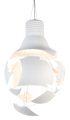 Lighting - Suspensions - Scheisse Pendant by Northern  - White - Lacquered steel