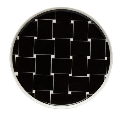 Assiette à dessert Basket Ø 20 cm Marimekko blanc,noir en céramique