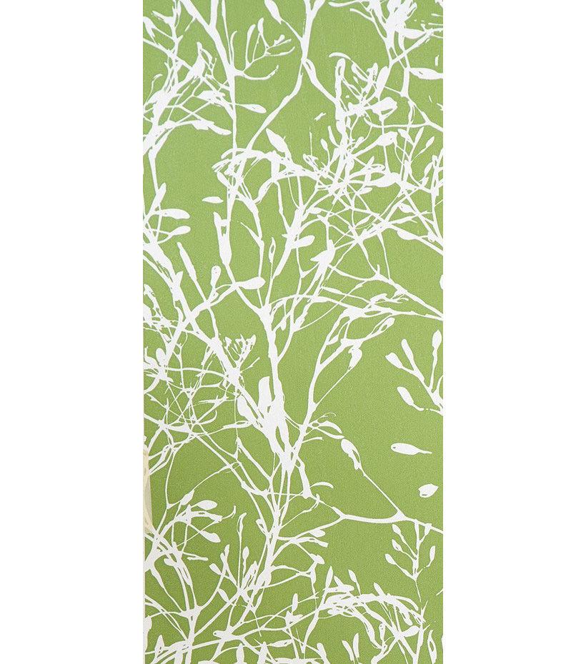 Papier Peint Wild Flower 1 Rouleau Larg 53 Cm Vert