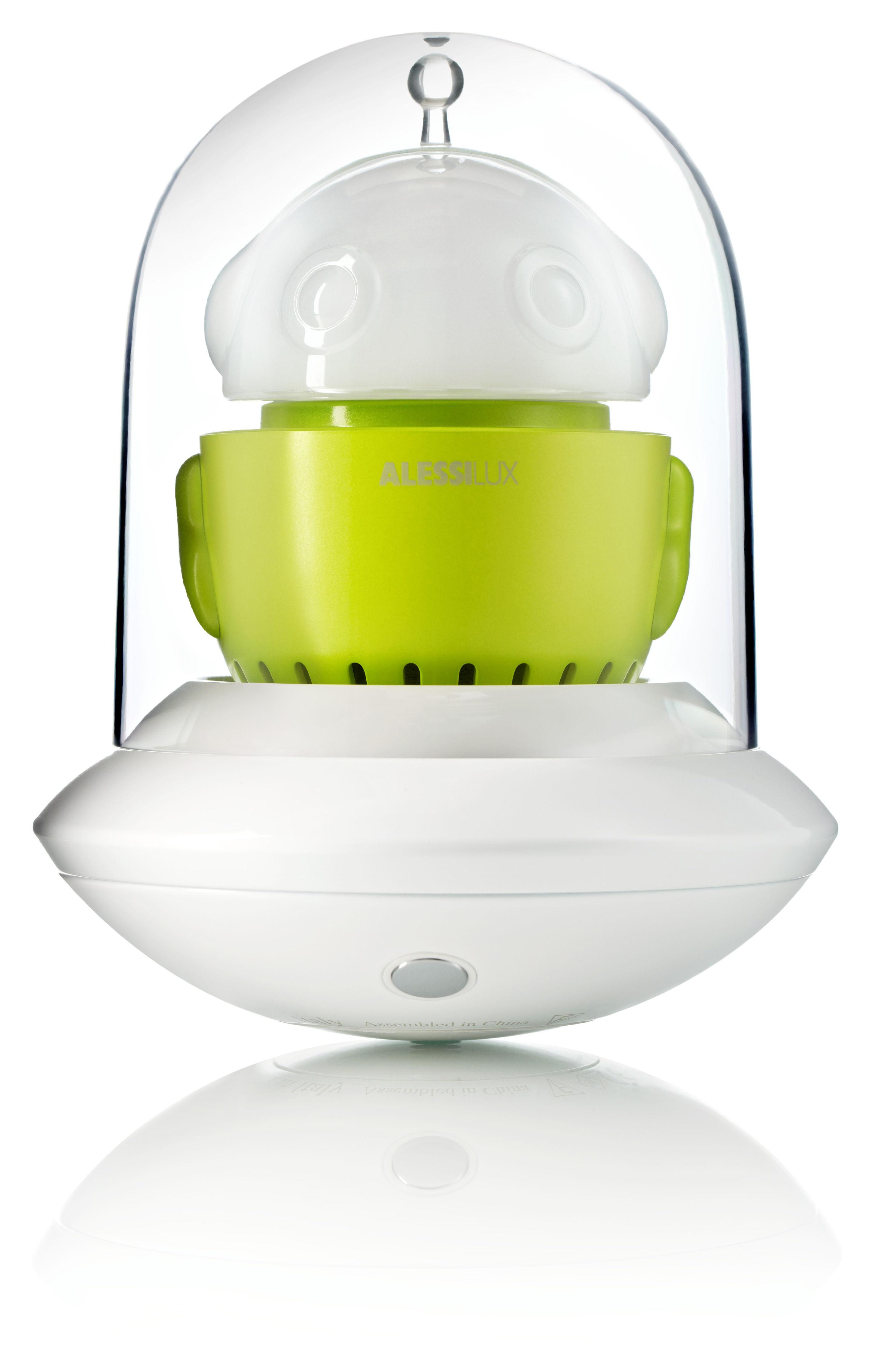 lampe sans fil ufo portable led vert alessilux. Black Bedroom Furniture Sets. Home Design Ideas