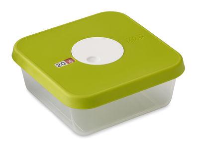 Cuisine - Boîtes, pots et bocaux - Boîte hermétique Dial / Empilable - Joseph Joseph - Vert / Capacité : 1,2 L - Matière plastique