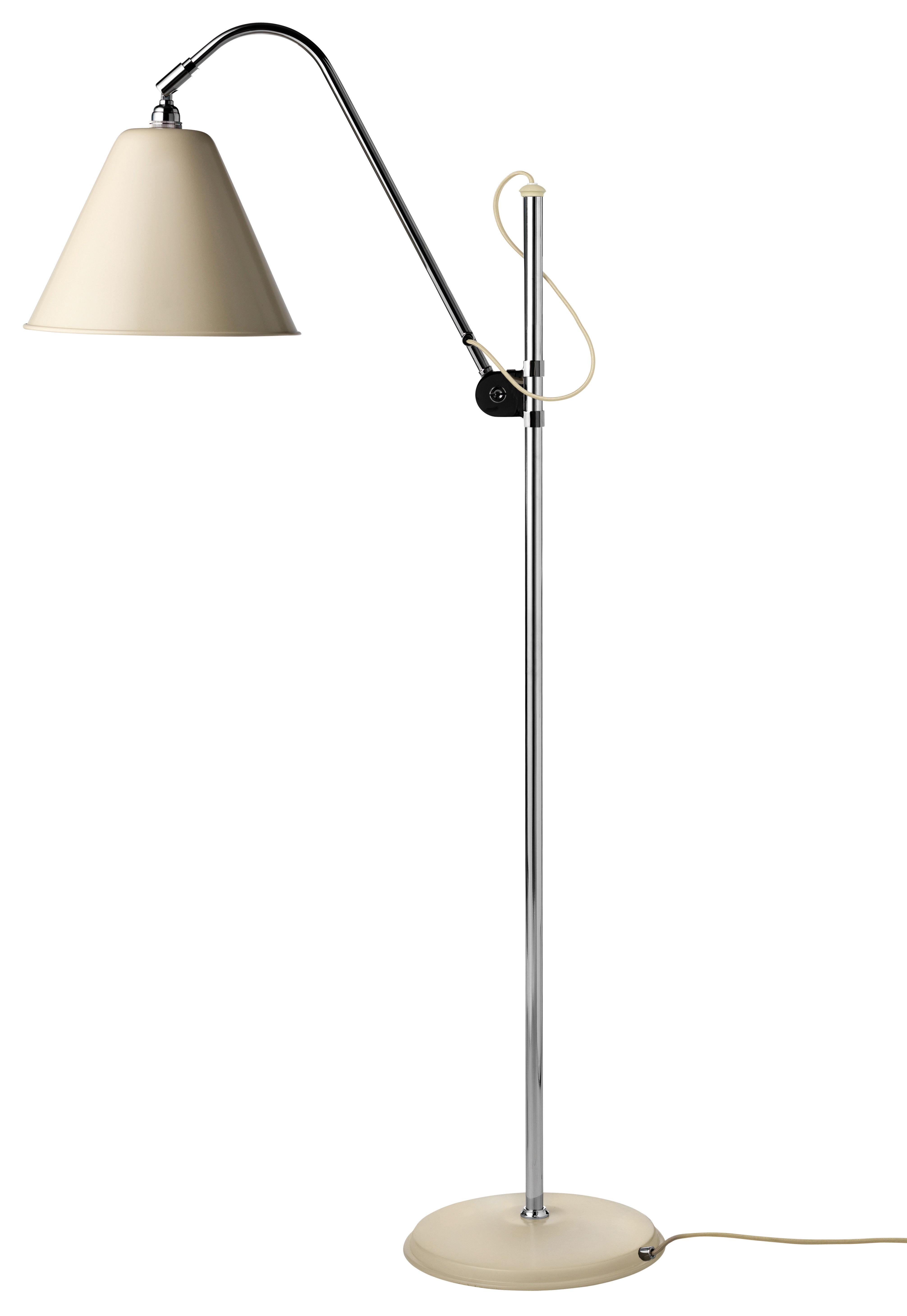 lampadaire bestlite bl3 original r dition de 1930 cr me gubi. Black Bedroom Furniture Sets. Home Design Ideas