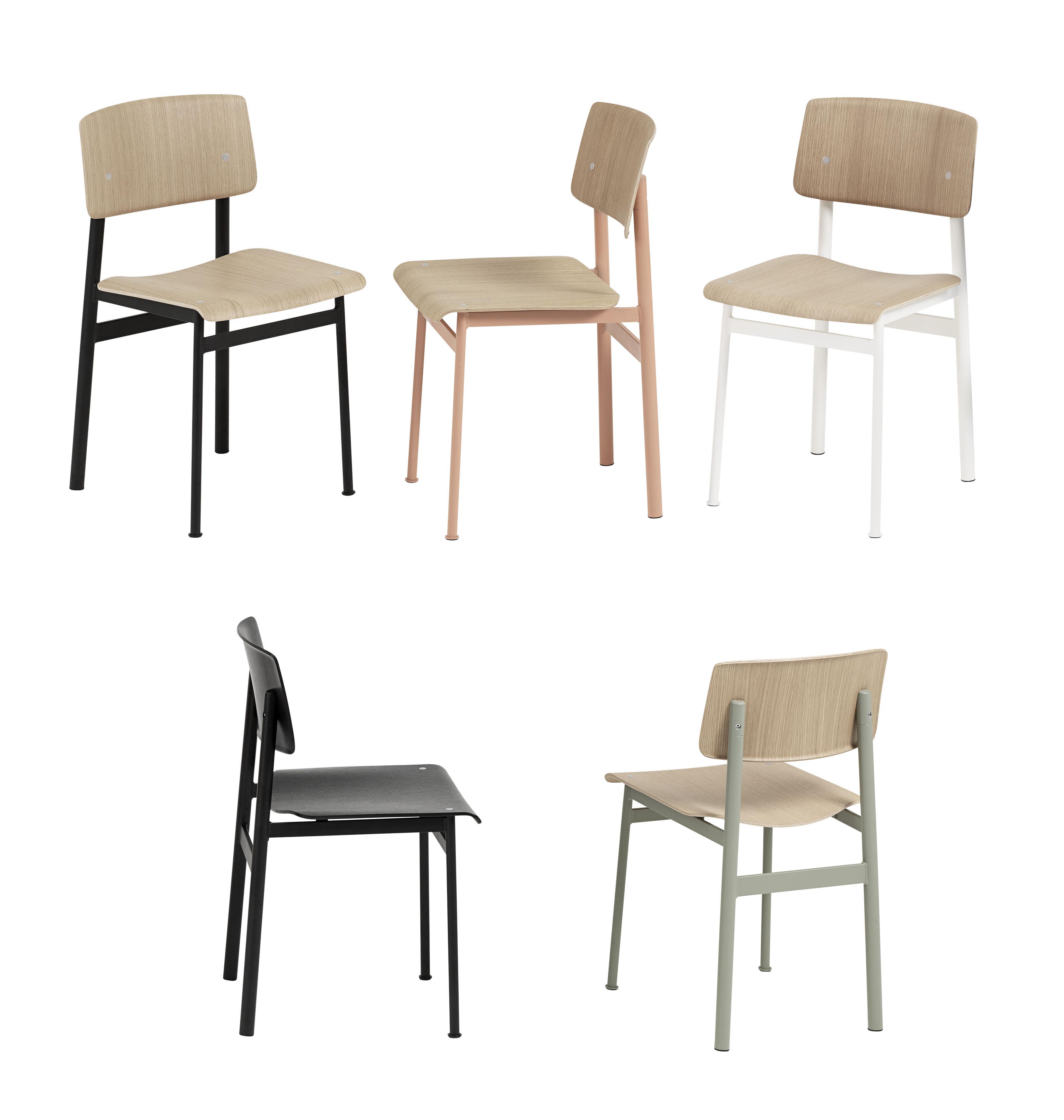 loft holz metall muuto stuhl. Black Bedroom Furniture Sets. Home Design Ideas
