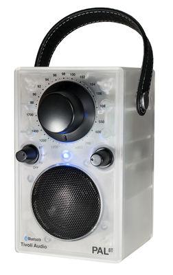 Radio Pal BT GLO Bluetooth Portative lumineuse Edition limitée Tivoli Audio translucide en matière plastique