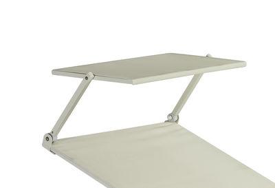 Image of Parasole - per sedia a sdraio Holly di Emu - Bianco - Tessuto