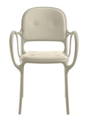 Milà Gepolsterter Sessel / Stoff - Magis - Beige