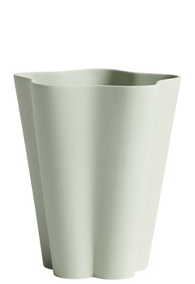 Vase Iris Small Ø 11 x H 13 cm Fait main Hay vert en céramique