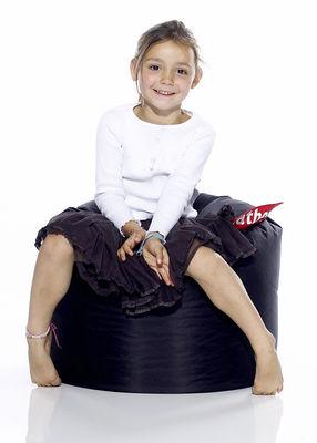 Furniture - Kids Furniture - Point Pouf by Fatboy - Black - Nylon fabric