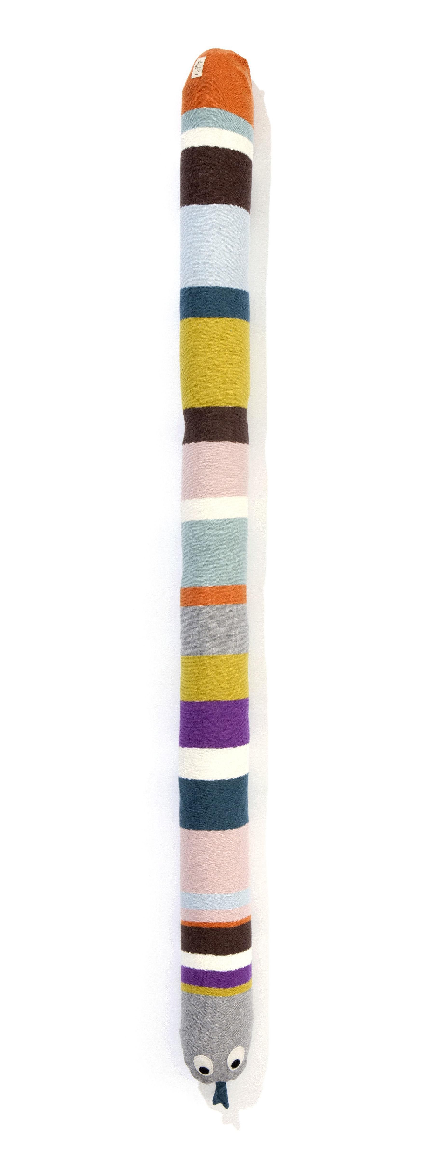 Coussin mr snake tour de lit l 180 cm multicolore - Tour de lit 160 ...