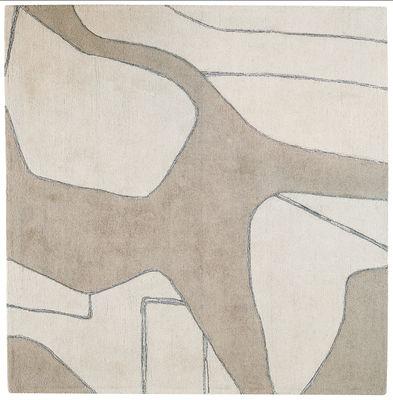 Déco - Tapis - Tapis Lines II Fluide by Reda Amalou / 180 x 270 cm - Toulemonde Bochart - Craie - Laine